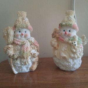Pair of snowman